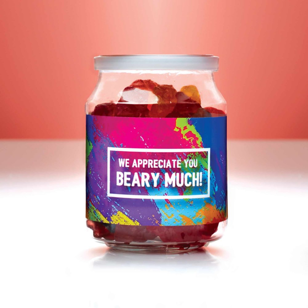 View larger image of Candy Jar - We Appreciate You Beary Much