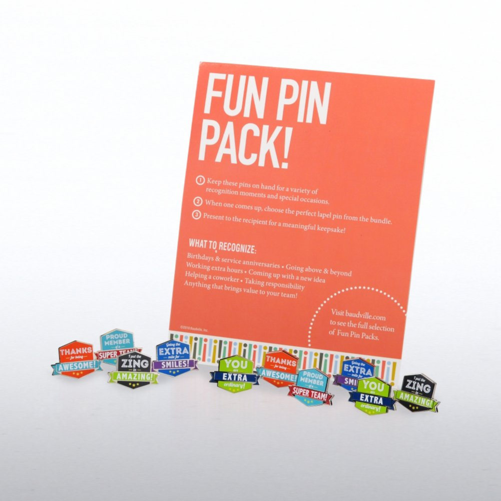 View larger image of Fun Pin Packs - Gratitude with Attitude