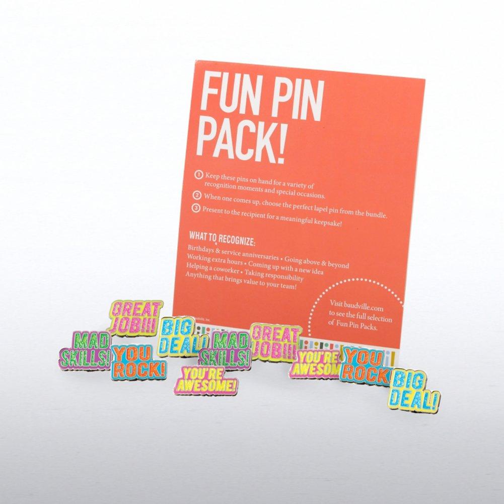View larger image of Fun Pin Pack - Neon Glitter Praise