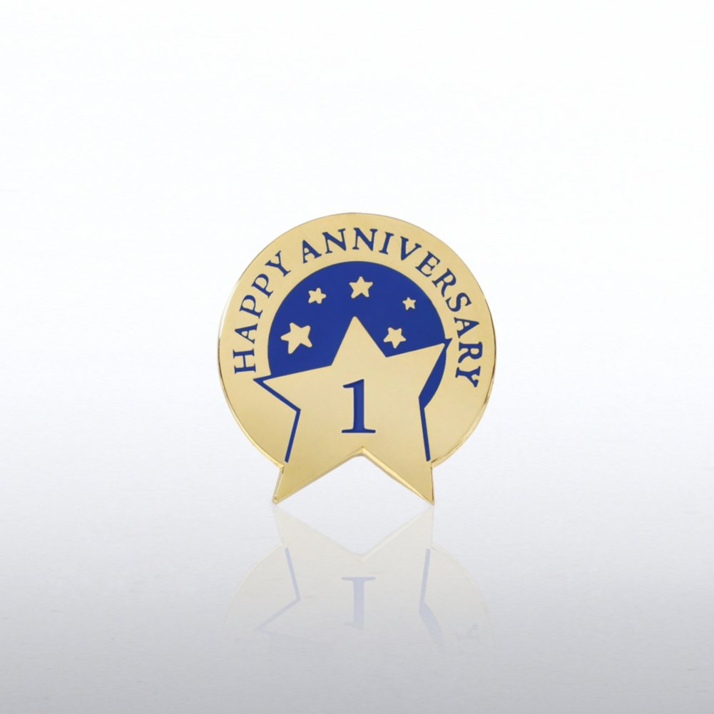 View larger image of Anniversary Lapel Pin - Happy Anniversary