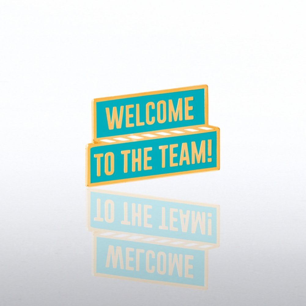 View larger image of Lapel Pin - Welcome to The Team Banner