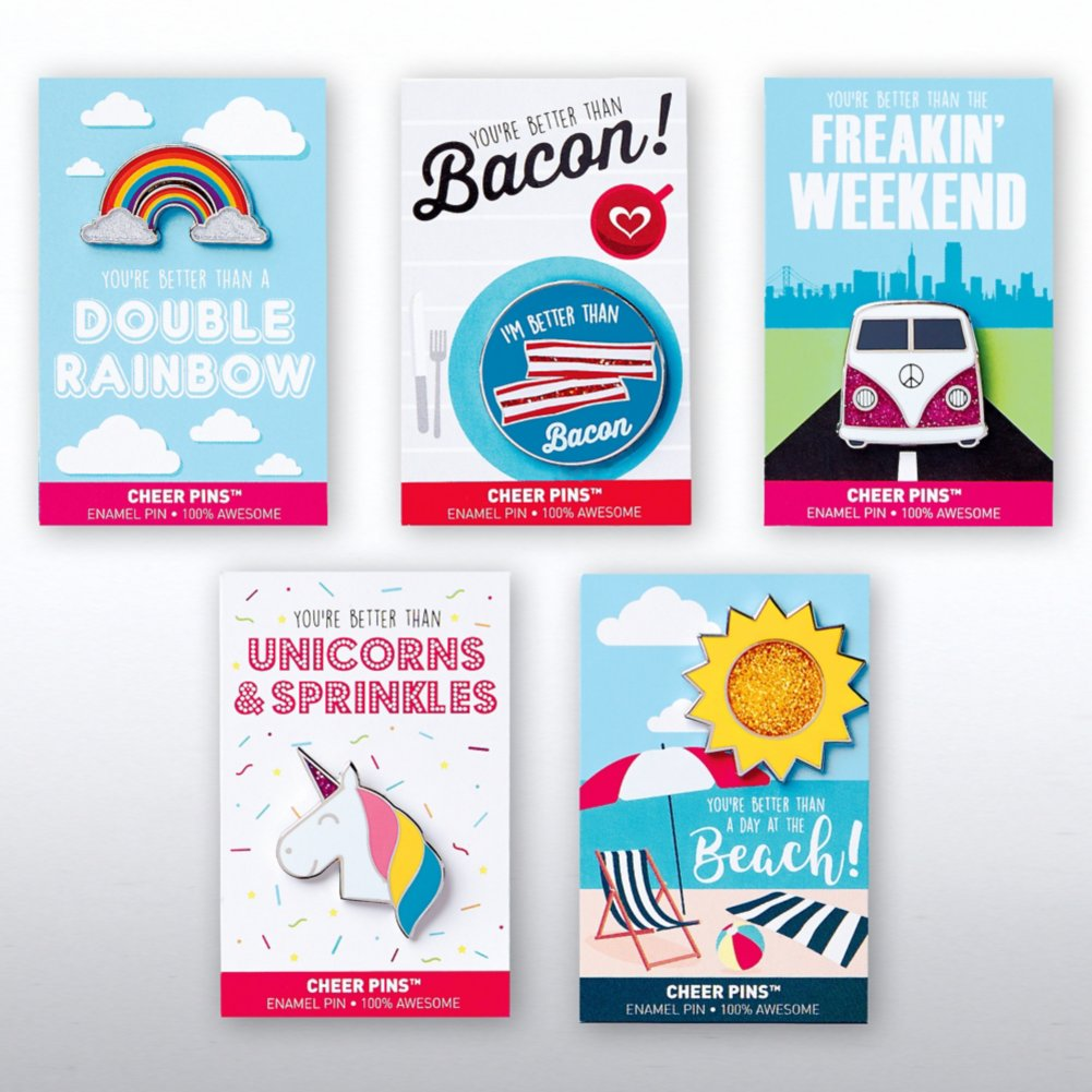 View larger image of Cheer Pin Bundle - You're Better Than