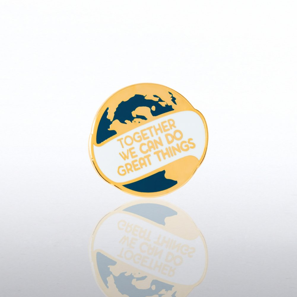 View larger image of Lapel Pin - Together We Can Do Great Things