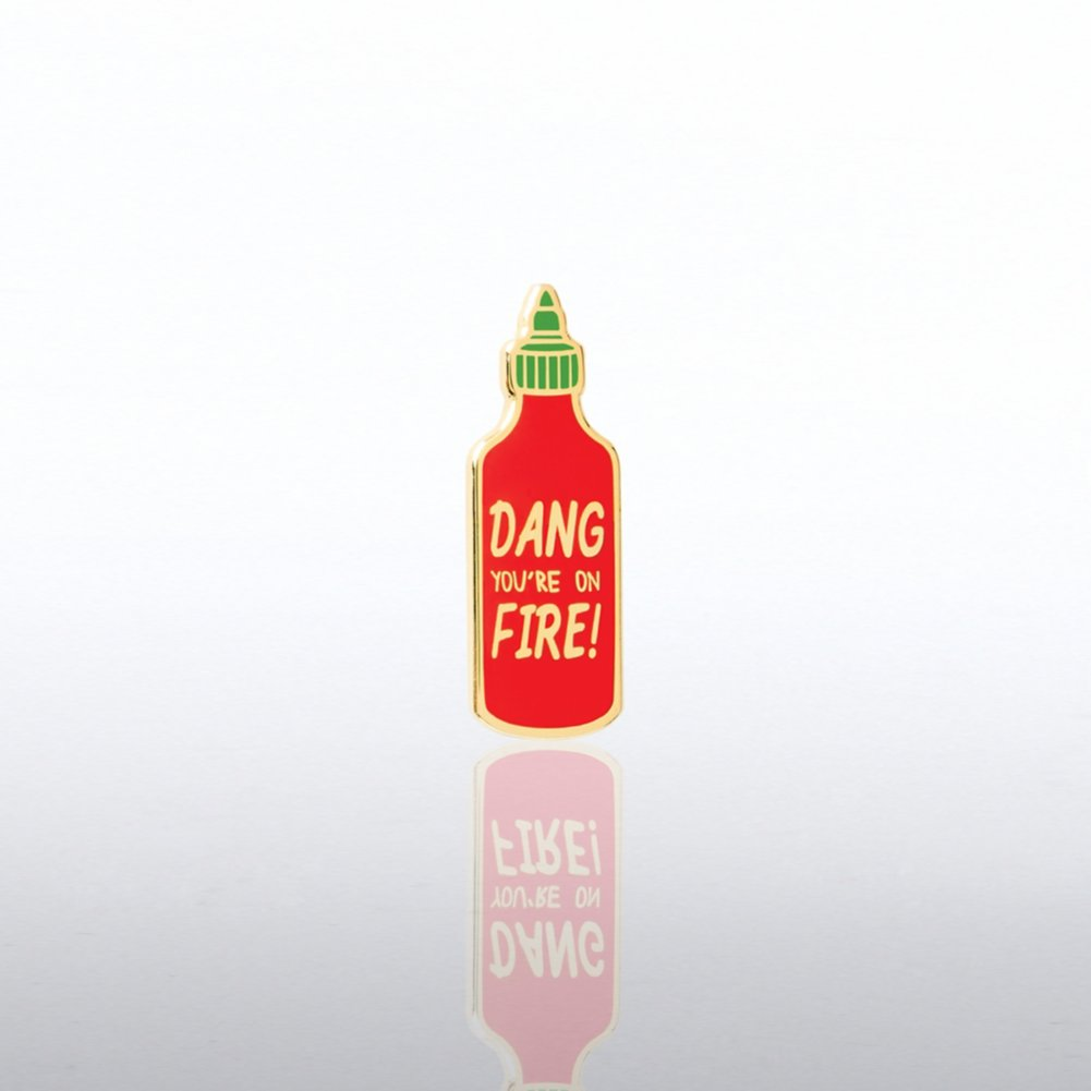 View larger image of Lapel Pin - Dang You're On Fire!