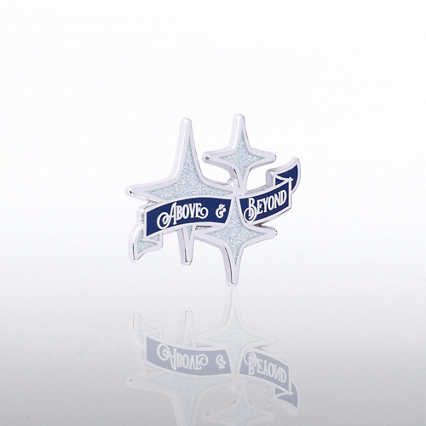 Lapel Pin - Above & Beyond Vintage Stars