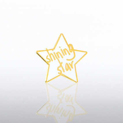 Lapel Pin - Shining Star