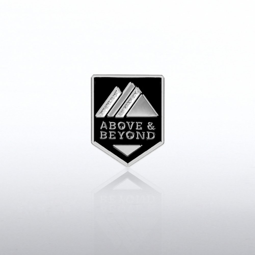 Lapel Pin - Above and Beyond Glitter