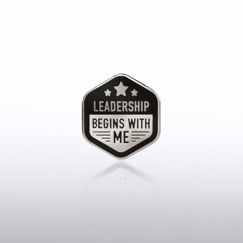 View larger image of Lapel Pin - Leadership Begins with Me Stars