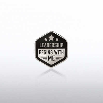 Lapel Pin - Leadership Begins with Me Stars