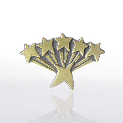Lapel Pin - Five Star Service