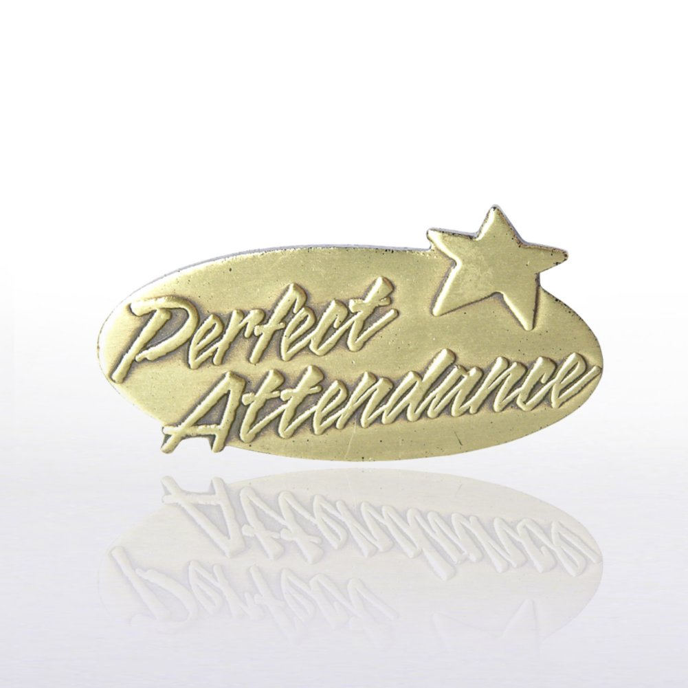 View larger image of Lapel Pin - Perfect Attendance