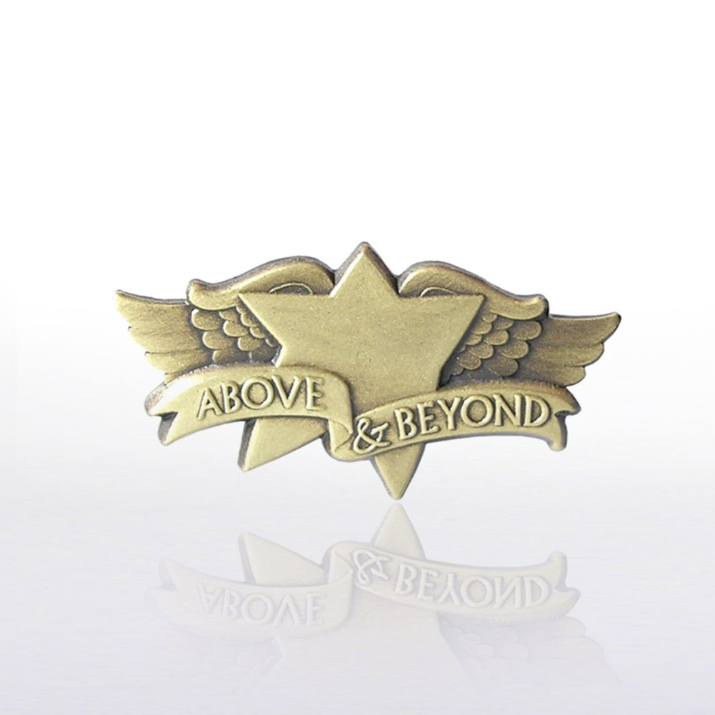 View larger image of Lapel Pin - Above and Beyond Wings