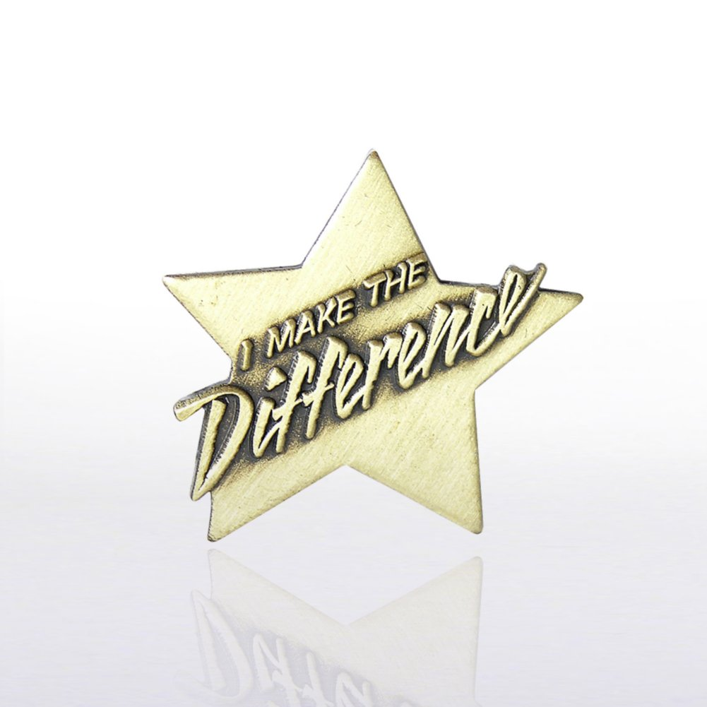 View larger image of Lapel Pin - I Make the Difference
