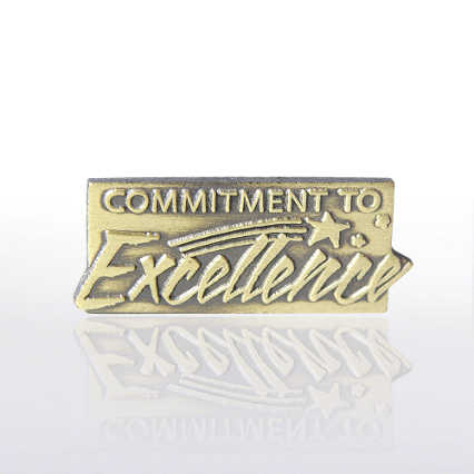 Lapel Pin - Commitment to Excellence