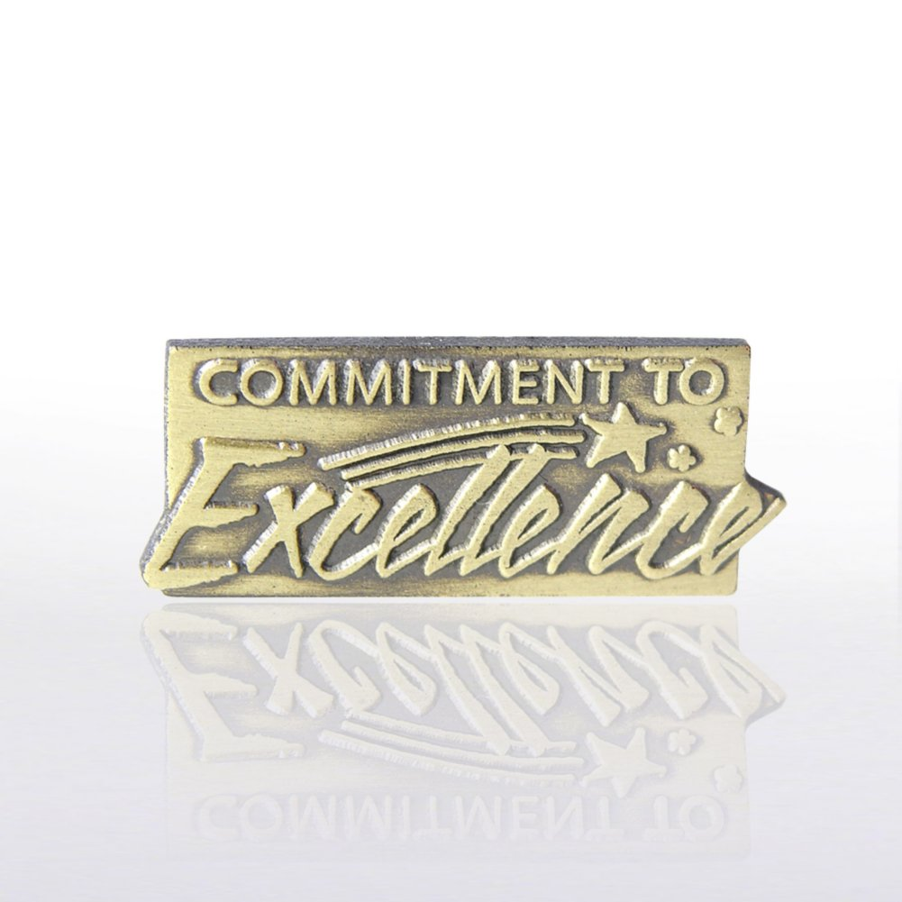 View larger image of Lapel Pin - Commitment to Excellence