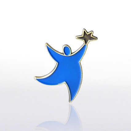 Lapel Pin - Team Guy - Blue