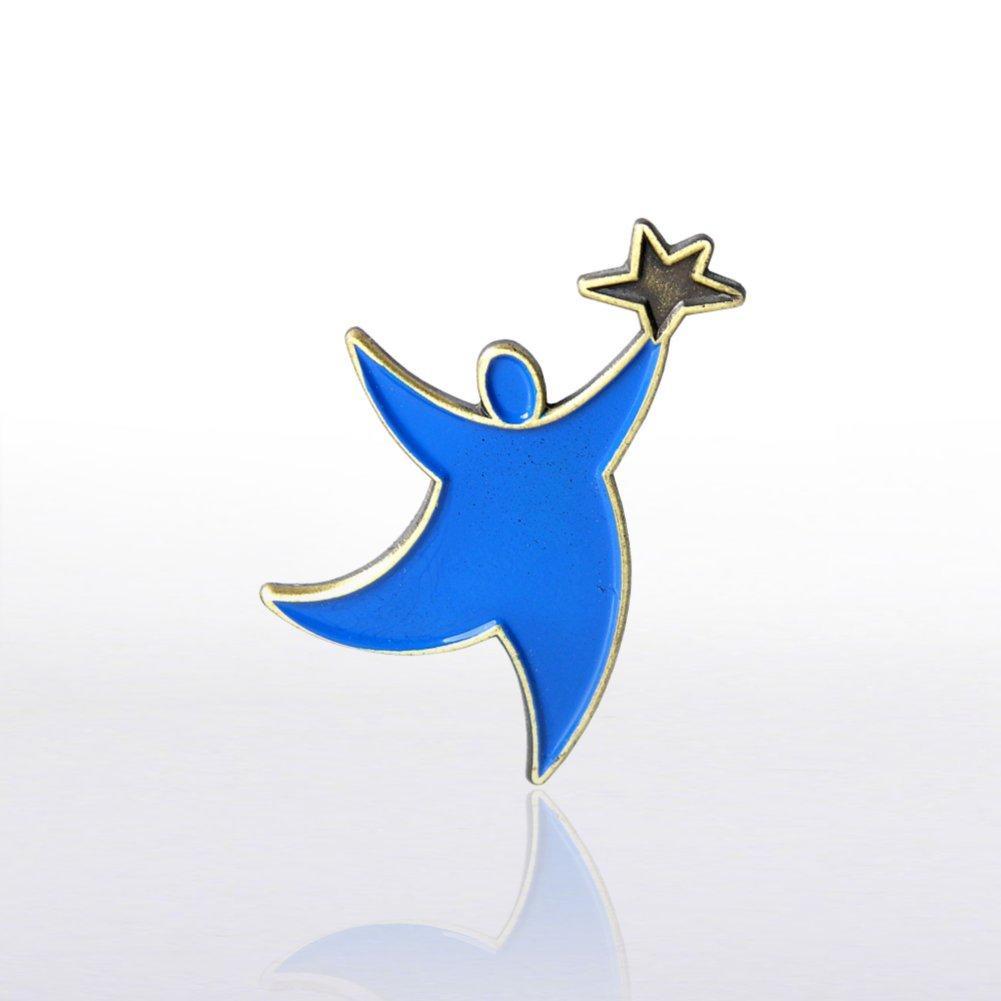 View larger image of Lapel Pin - Team Guy - Blue