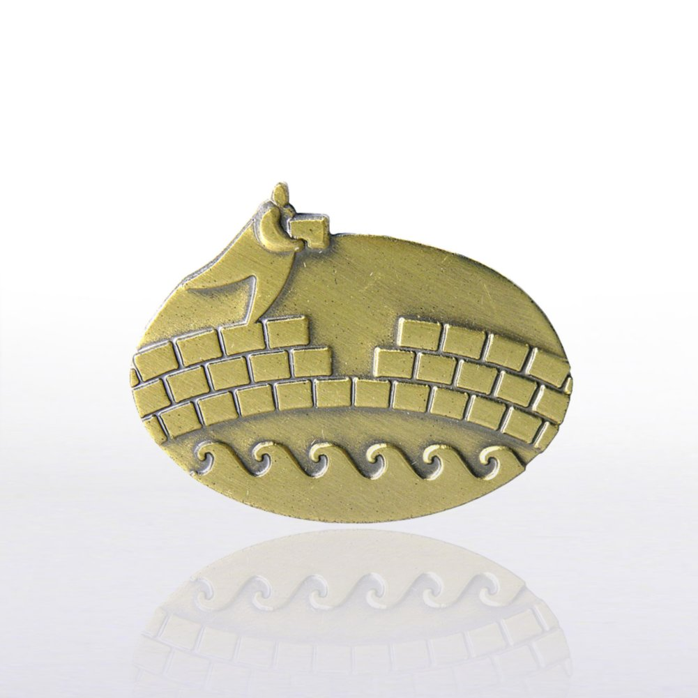 View larger image of Lapel Pin - Bridge Builder