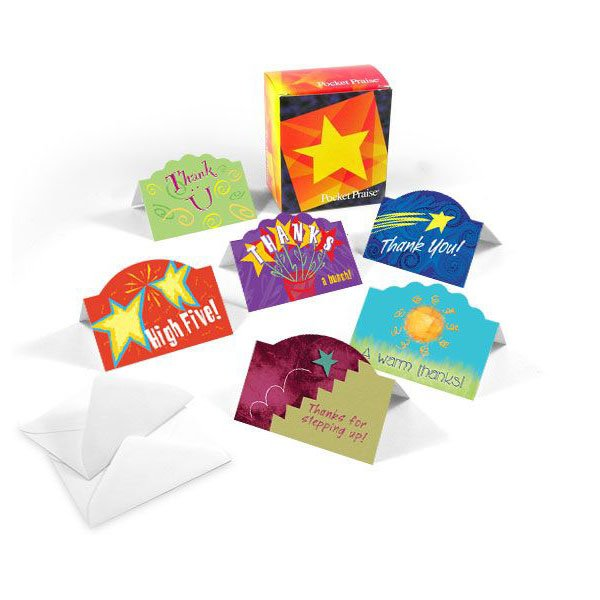 View larger image of Pop-Up Pocket Praise - Thank You Pop Up Assortment