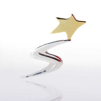 Lapel Pin - Super Rising Star