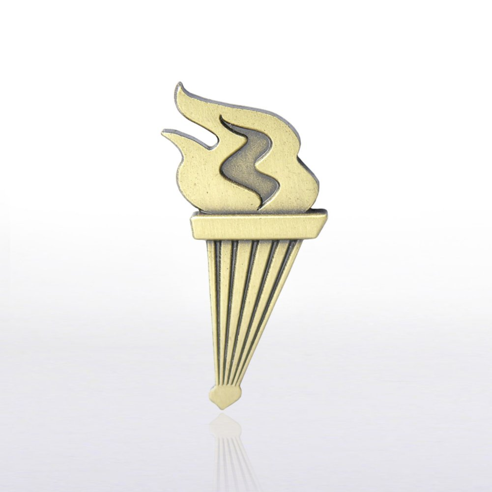 View larger image of Lapel Pin - Torch of Achievement