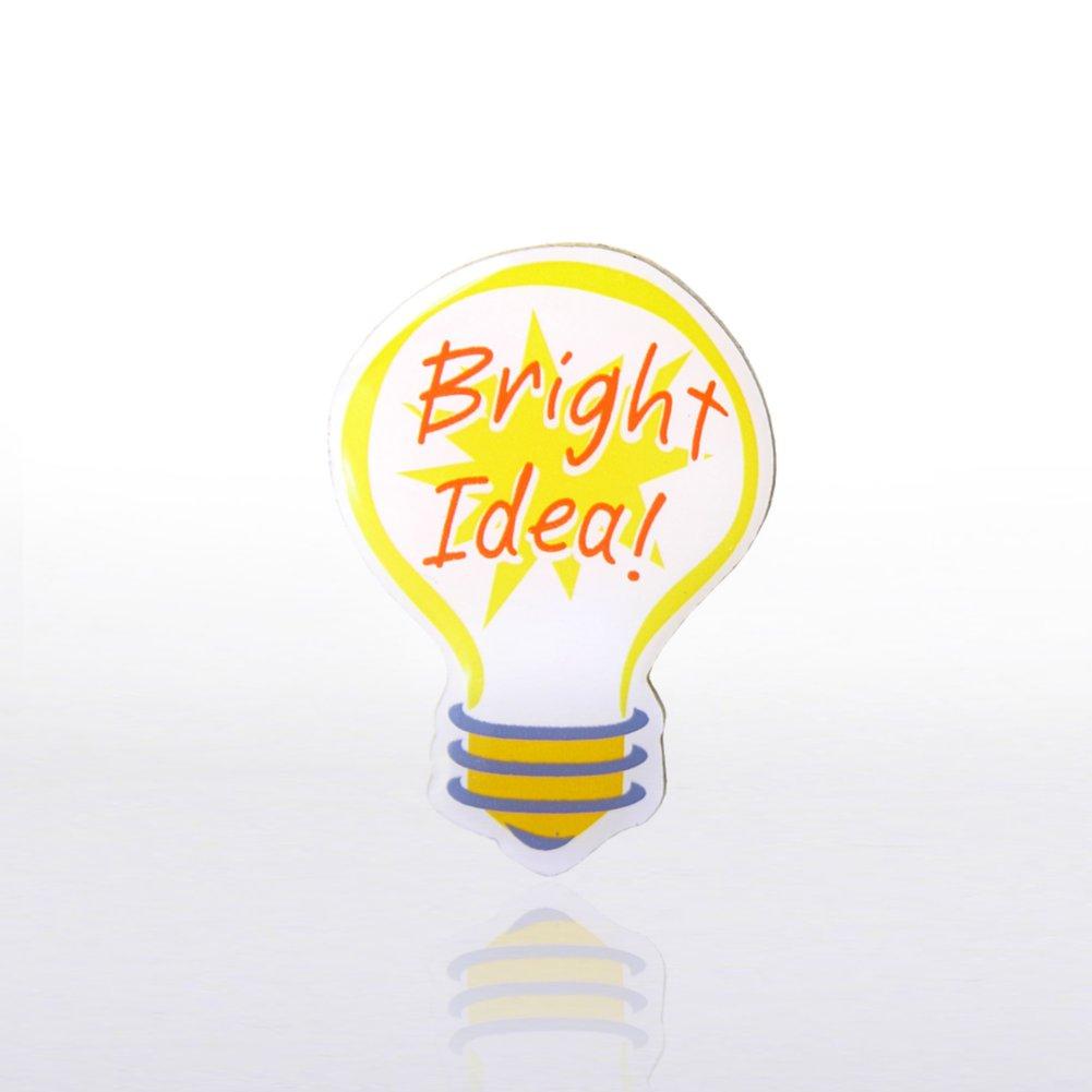 View larger image of Lapel Pin - Bright Idea - Multi Color