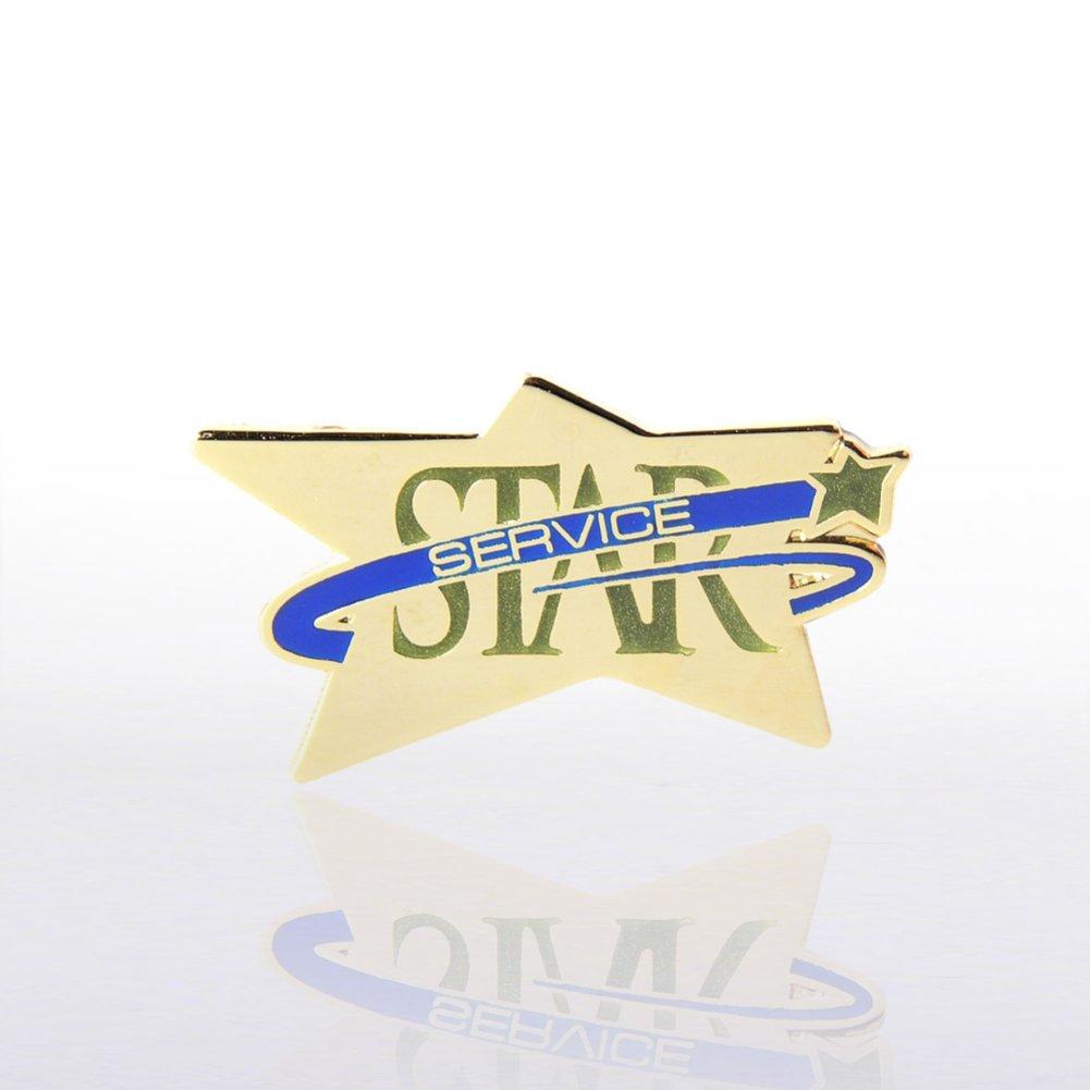 Lapel Pin - Star Service - Multi Color