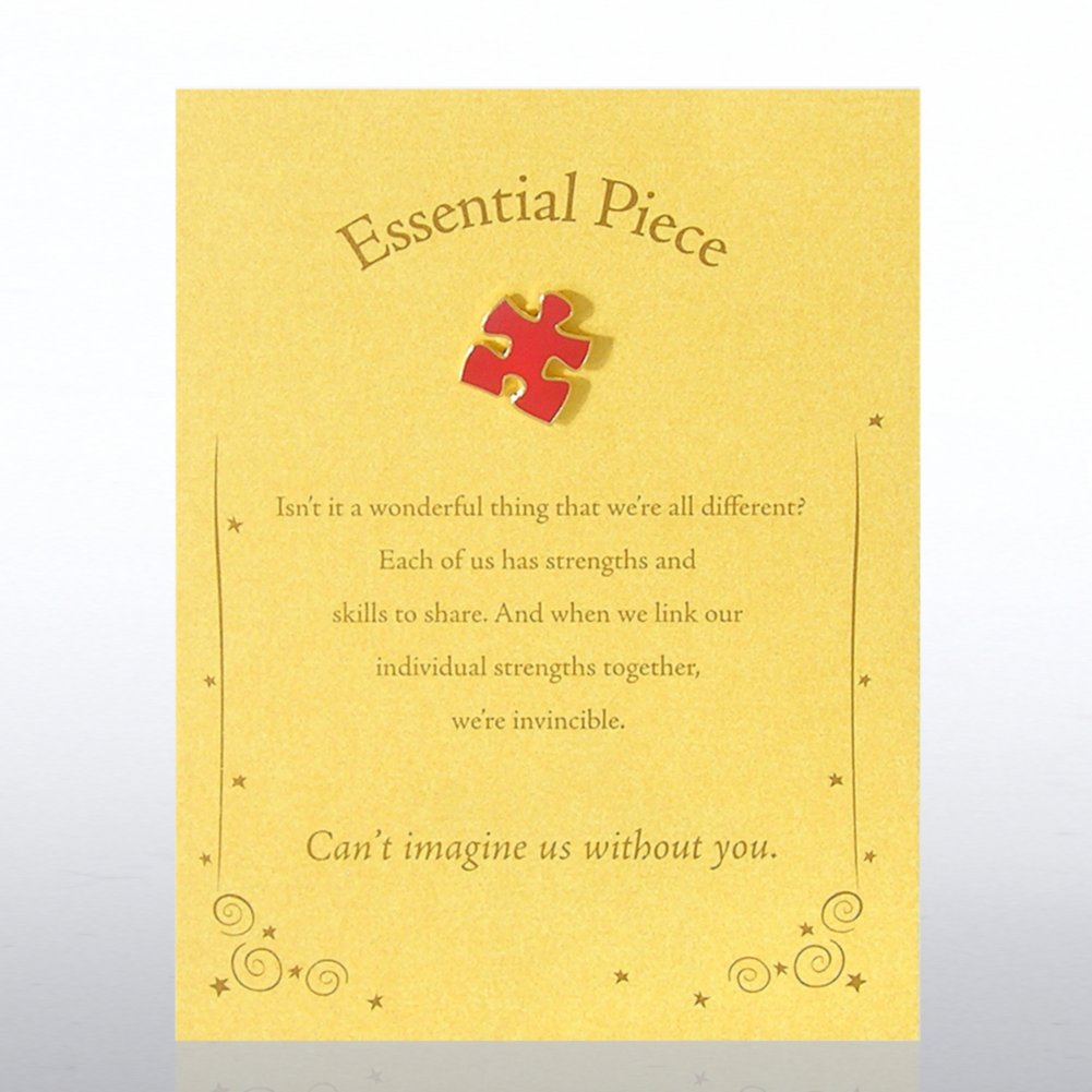View larger image of Character Pin - Essential Piece - Gold Card