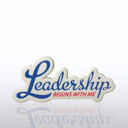 Lapel Pin - Leadership Begins with Me