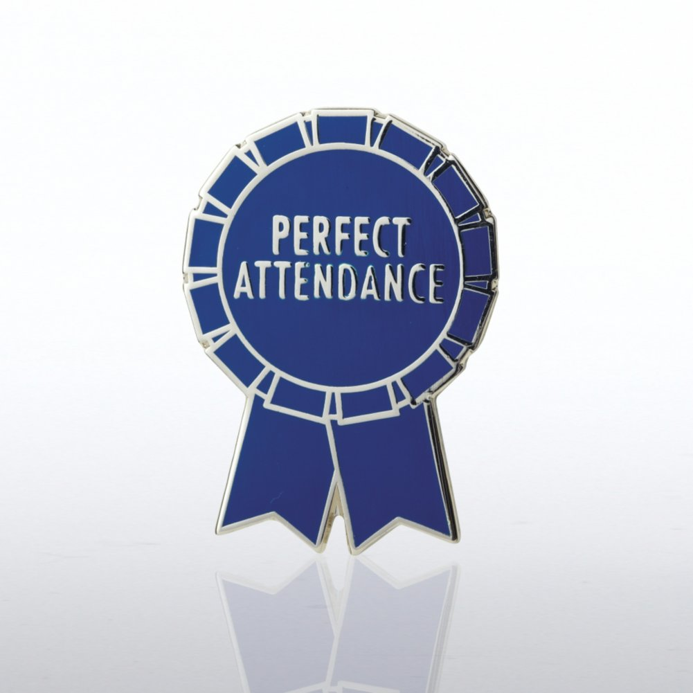 View larger image of Lapel Pin - Perfect Attendance Ribbon