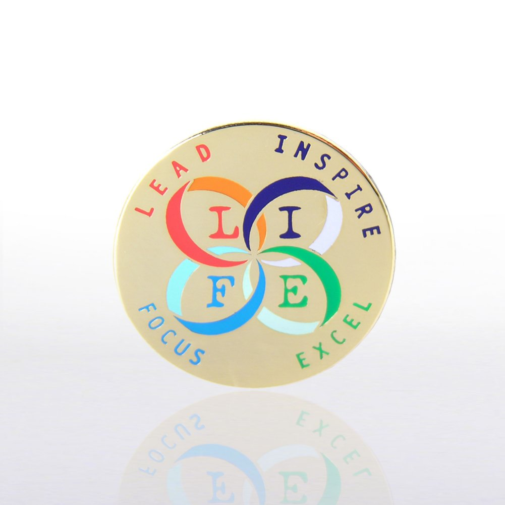 View larger image of Lapel Pin - L.I.F.E.