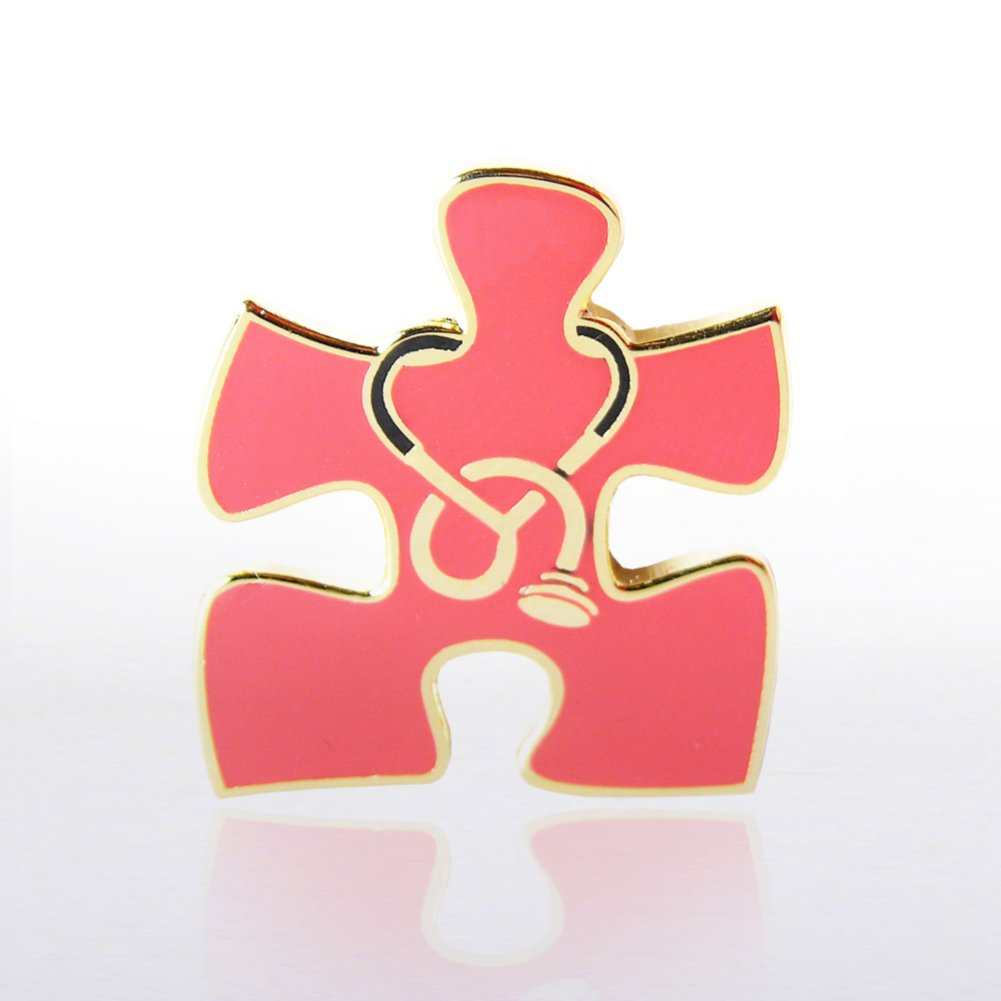 View larger image of Lapel Pin - Essential Piece Stethoscope