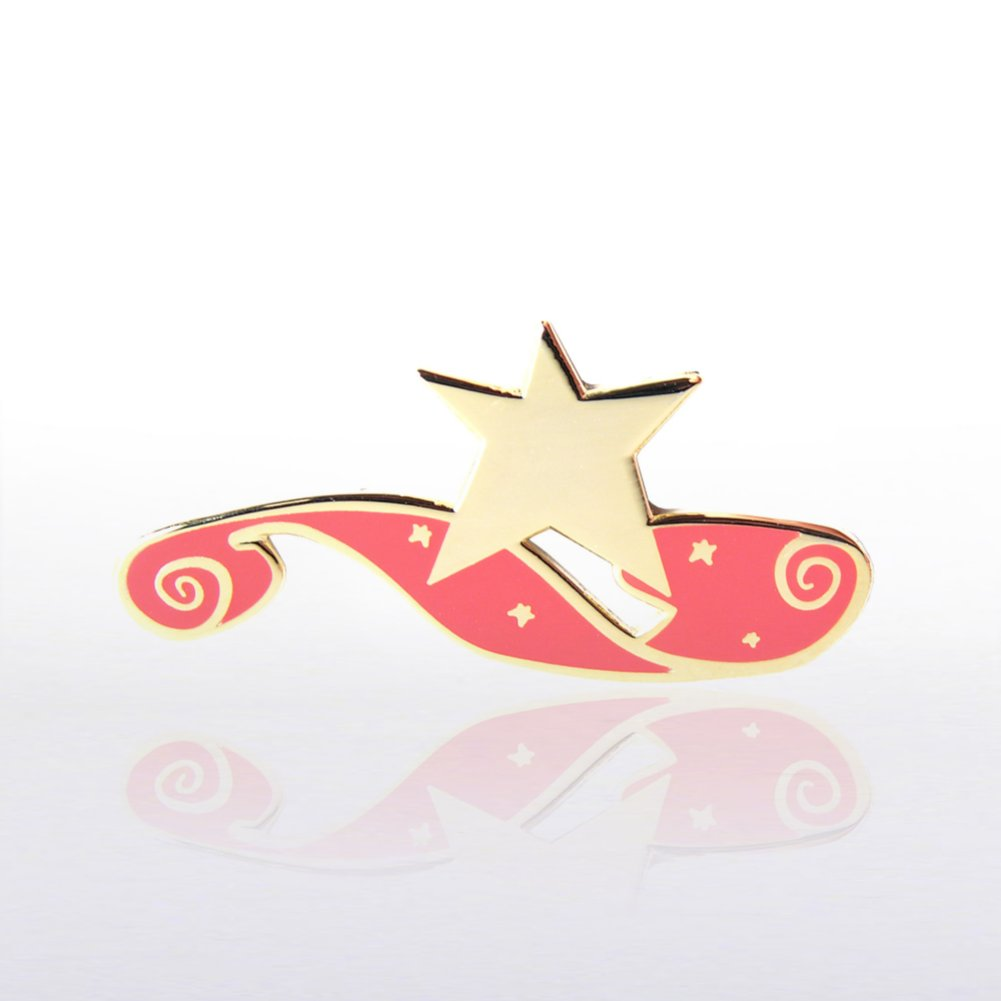 View larger image of Lapel Pin - Red Carpet Star