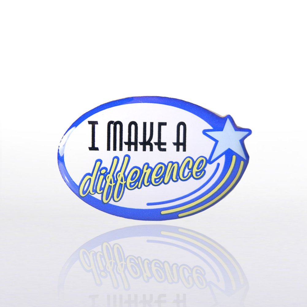 View larger image of Lapel Pin - I Make a Difference
