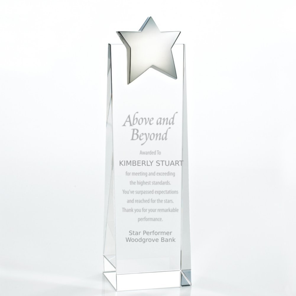 View larger image of Crystalline Tower Trophy - Star