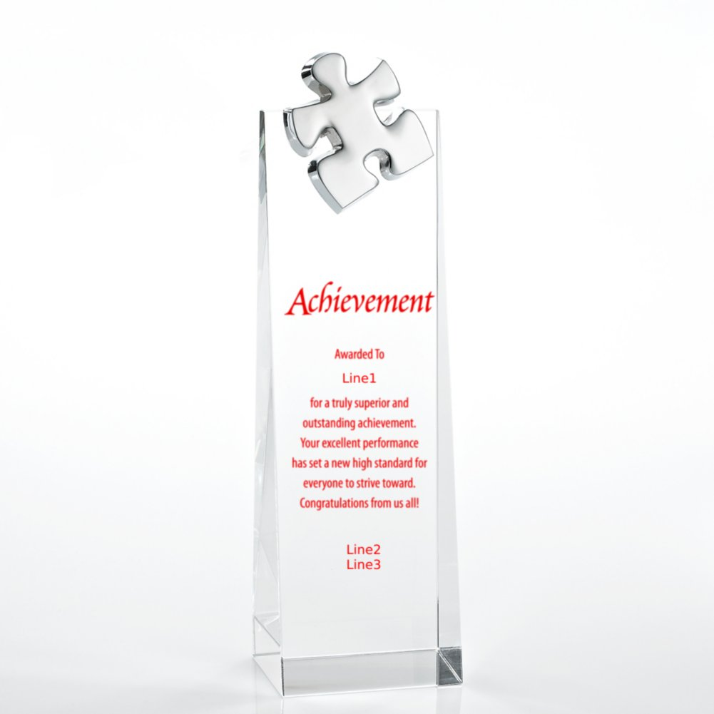 Crystalline Tower Trophy - Essential Piece