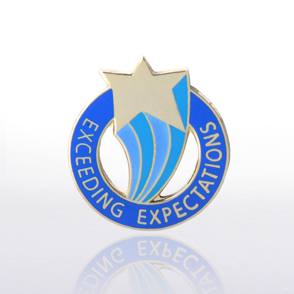 View larger image of Lapel Pin - Exceeding Expectations
