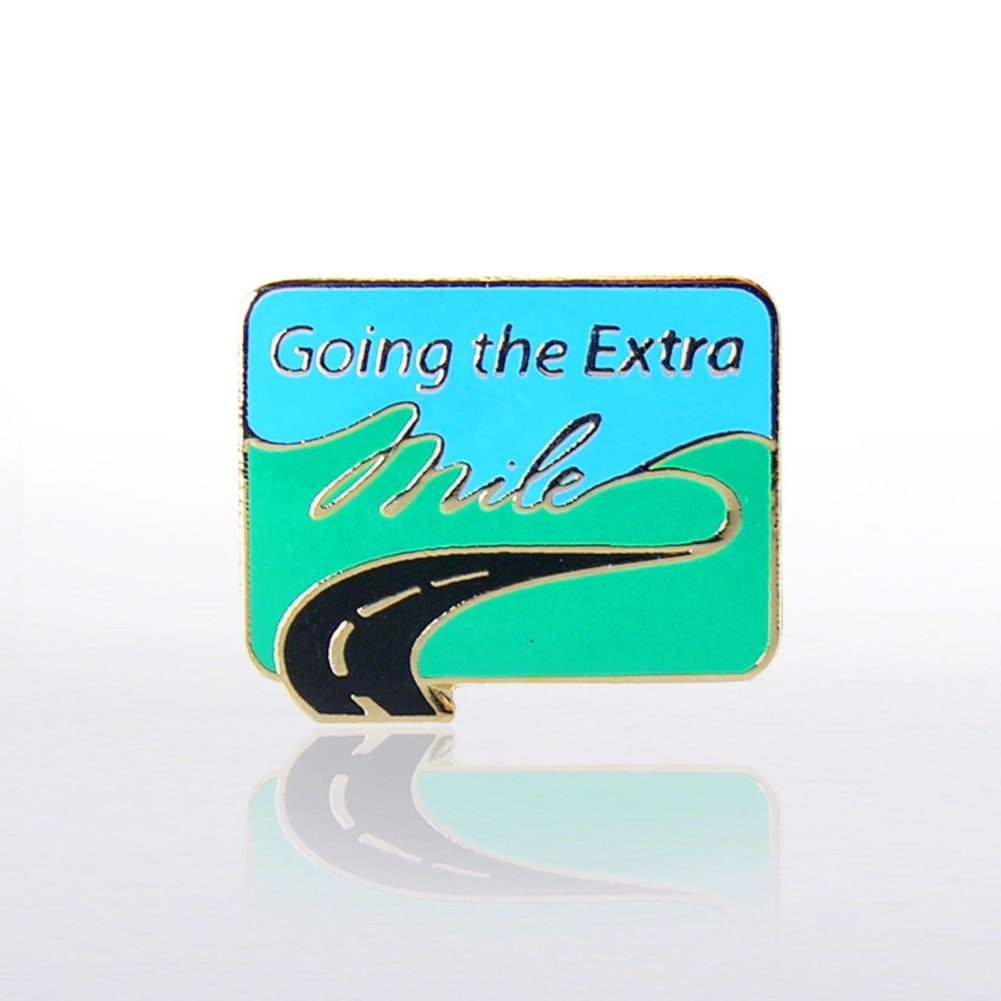 View larger image of Lapel Pin - Going the Extra Mile