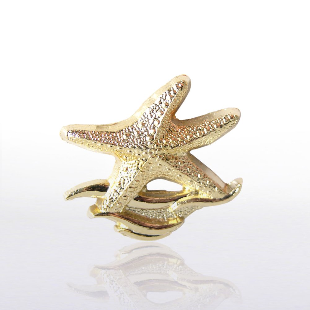 View larger image of Lapel Pin - Starfish Waves