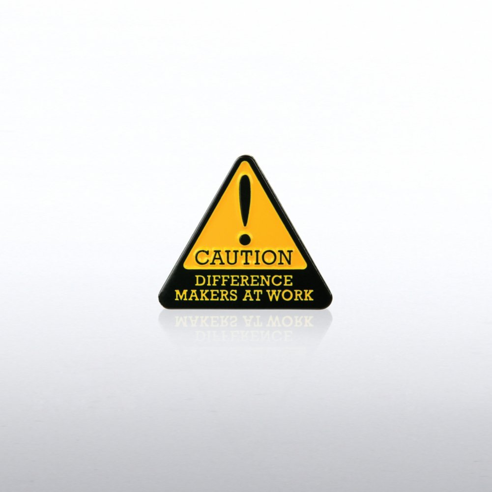 View larger image of Lapel Pin - Caution: Difference Makers at Work
