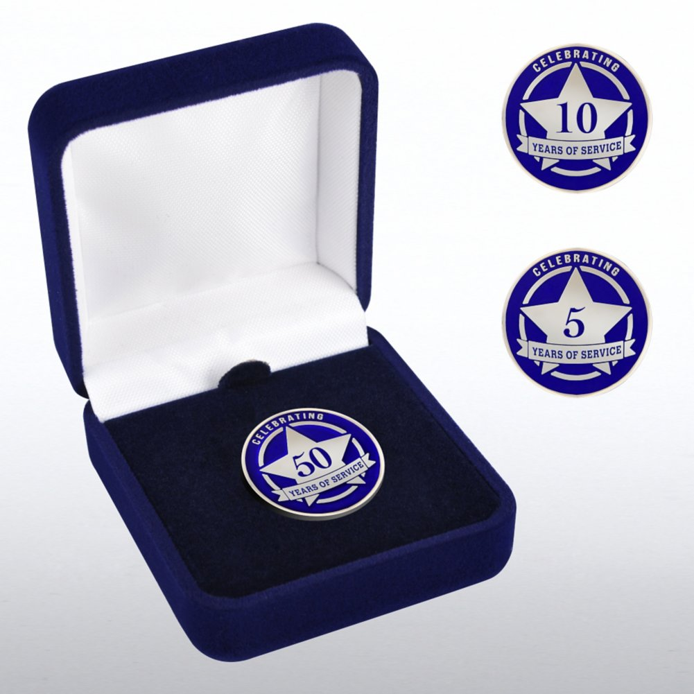 View larger image of Anniversary Lapel Pin - Celebrating Years of Service