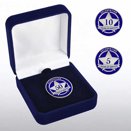 Anniversary Lapel Pin - Celebrating Years of Service