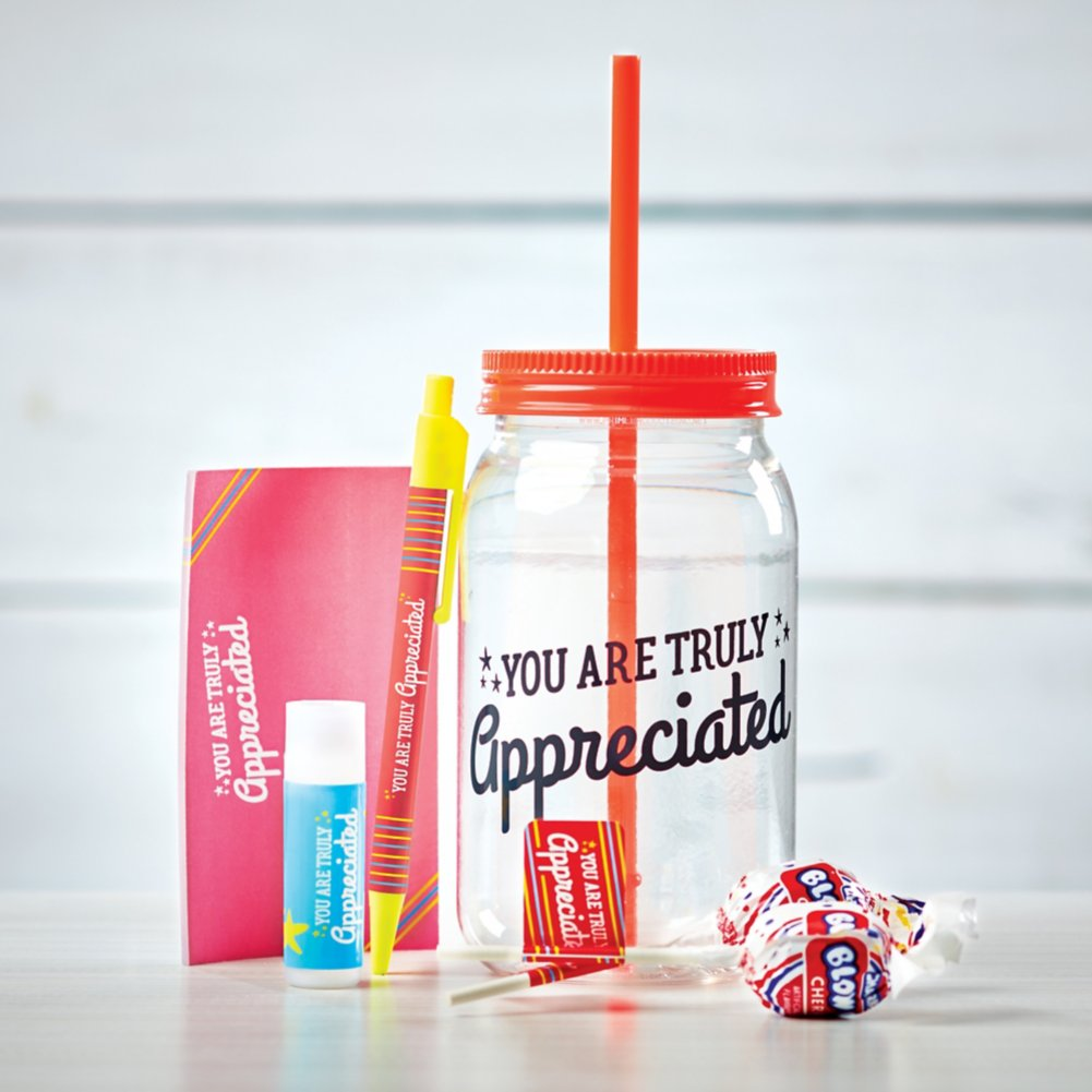 View larger image of Value Mason Jar Gift Set - You Are Truly Appreciated