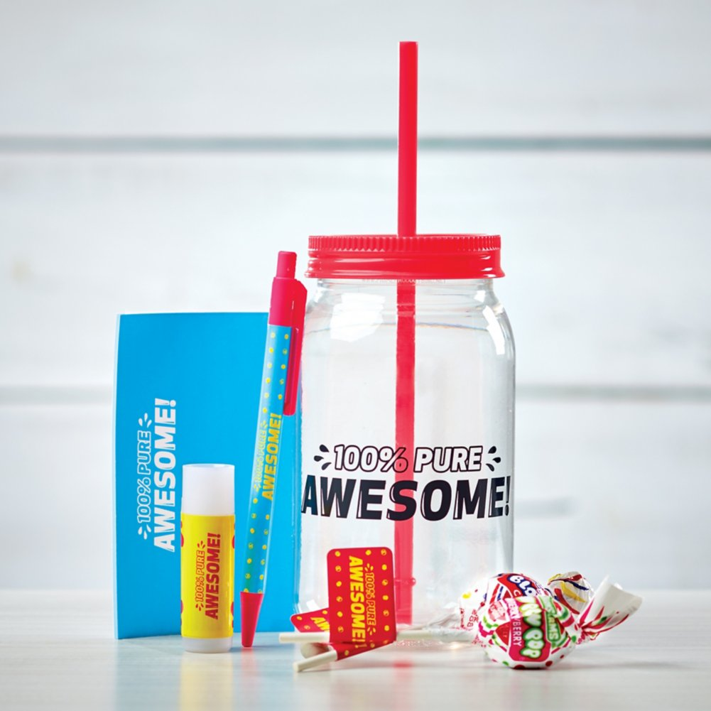 View larger image of Value Mason Jar Gift Set - 100% Pure Awesome!