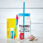 View larger image of Value Mason Jar Gift Set - Thanks to You for All You Do!