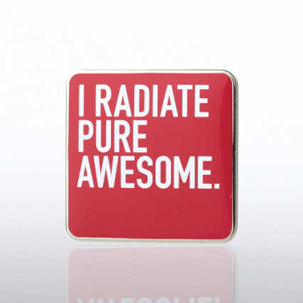 Lapel Pin - I Radiate Pure Awesome