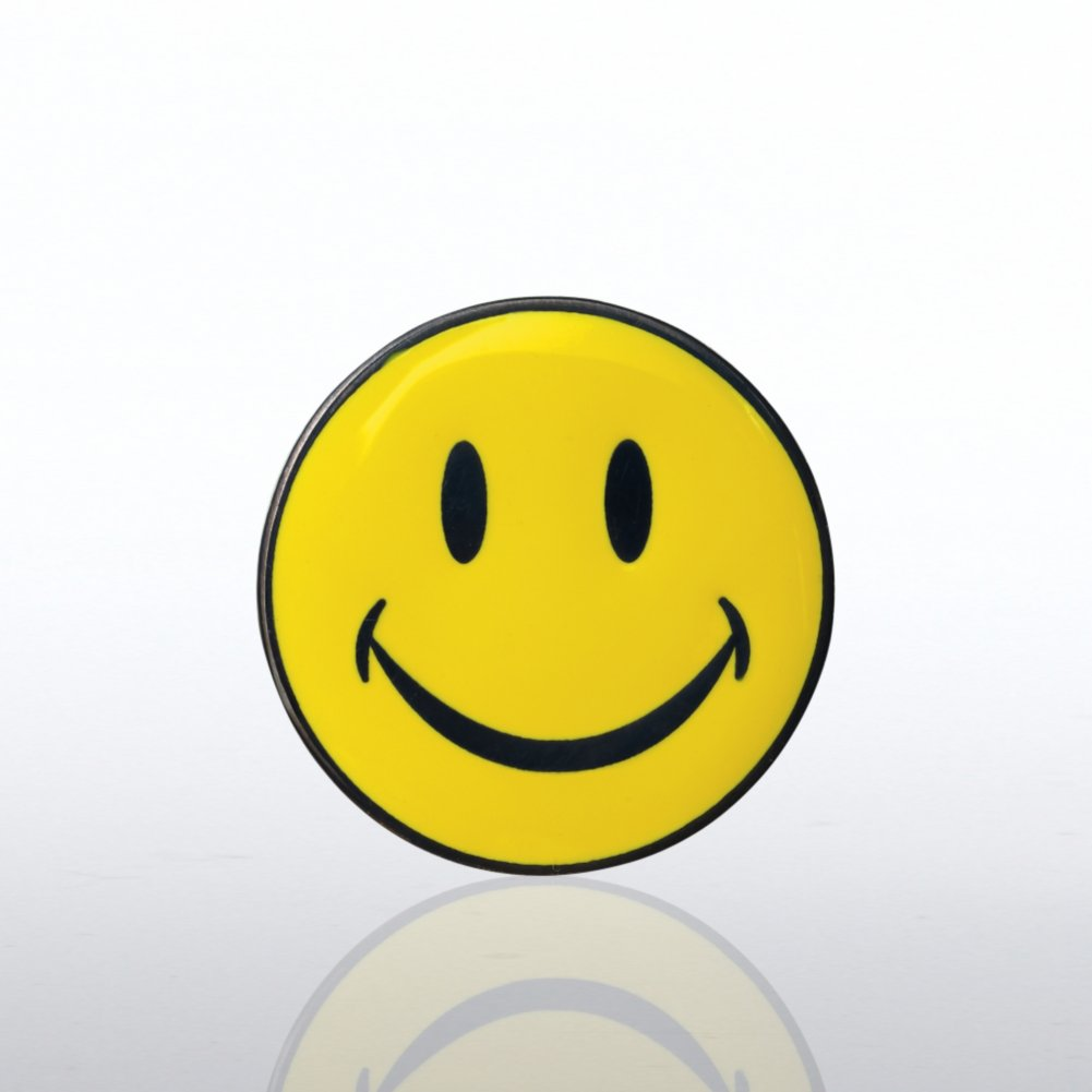 View larger image of Lapel Pin - Smiley Face