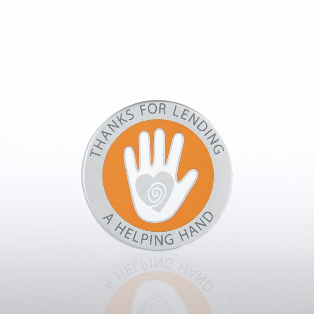 Lapel Pin - Thanks for Lending a Helping Hand