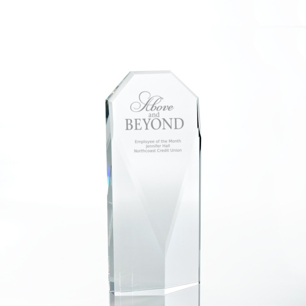 View larger image of Executive Beveled Crystal Trophy - Diamond