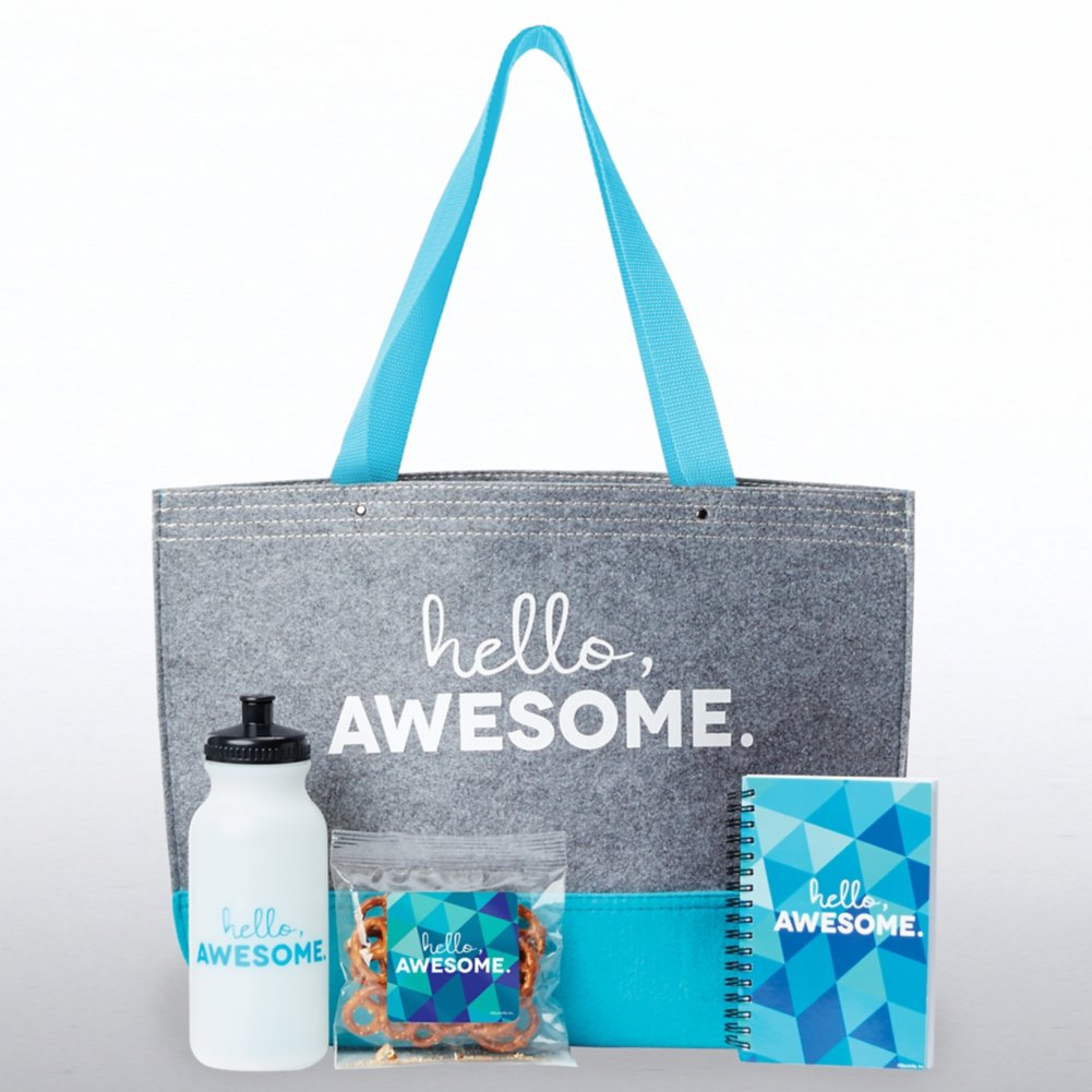 View larger image of Tote-ally Fantastic Gift Set - Hello, Awesome